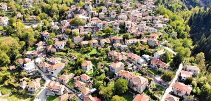 Το υπέροχο Μεγάλο Χωριό στην καρδιά της Ευρυτανίας