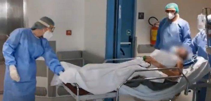 Γιάννενα: Η συγκινητική στιγμή που 68χρονος με κορωνοϊό βγαίνει από τη ΜΕΘ (Video)