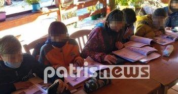 Ηλεία: Τηλεκπαίδευση στο… καφενείο!