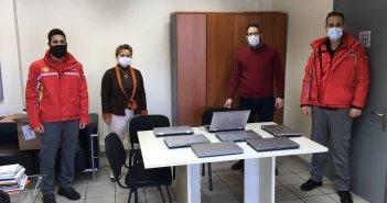Δωρεά επτά Laptop από την εταιρεία Coral στο Δήμο Αμφιλοχίας