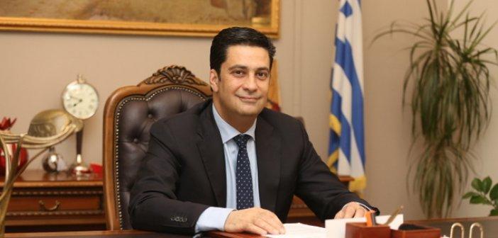 Ευχές του Δημάρχου Αγρινίου Γιώργου Παπαναστασίου για τη νέα χρονιά