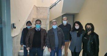 Προληπτικός έλεγχος Μοριακού τεστ COVID-19,χθες, στην Κατούνα