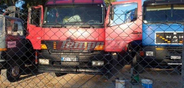 Δυτική Ελλάδα: Κατέστρεψαν μηχανήματα και φόρτωσαν μπαταρίες σε αγροτικό – Μεγάλες ζημιές σε εταιρία (ΦΩΤΟ & ΒΙΝΤΕΟ)