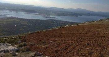 Αιτωλικό: Έργα βελτίωσης του χώρου απογείωσης αλεξίπτωτου πλαγιάς