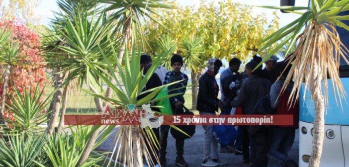 Και άλλοι μετανάστες έφθασαν σήμερα στο Μεσολόγγι (ΦΩΤΟ)