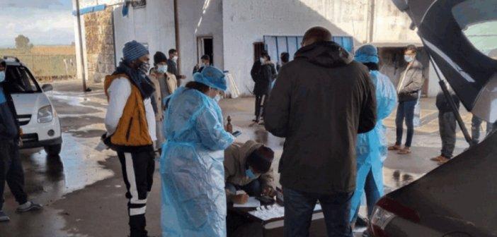 Αρνητικοί στον κορωνοϊό όλοι οι αλλοδαποί εργάτες του Νεοχωρίου