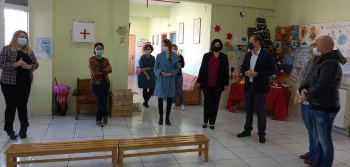 Ο Σπήλιος Λιβανός στο πλευρό των μαθητών και των εκπαιδευτικών των ειδικών σχολείων Αιτωλοακαρνανίας