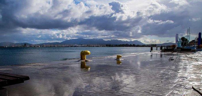Πρέβεζα: Ένα με την παραλιακή η θάλασσα(Φωτο)