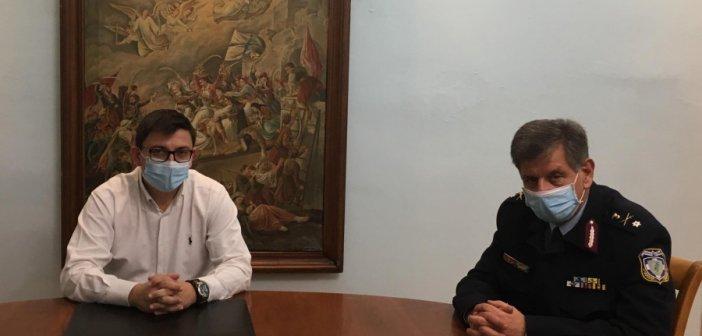 Ξηρόμερο: Συνάντηση του Δημάρχου με τον Αστυνομικό Διευθυντή Αιτωλίας