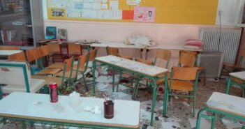 Διάρρηξη και καταστροφές στο 5ο Δημοτικό Σχολείο Αγρινίου