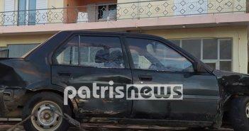 Ηλεία: Νεκρός σε τροχαίο στην Ροβιάτα ηλικιωμένος οδηγός