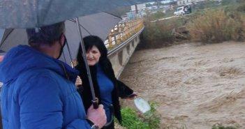 Προβλήματα και σε άλλες περιοχές της Αιτωλοακαρνανίας – Επί τόπου η Μαρία Σαλμά