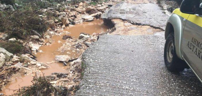 Δήμος Ξηρομέρου: Προσοχή μην κυκλοφορείτε στον δρόμο της Δρογοβίτσας