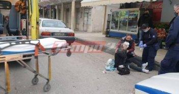 Πάτρα: Αυτοκίνητο παρέσυρε γυναίκα – Μεταφέρθηκε στο νοσοκομείο
