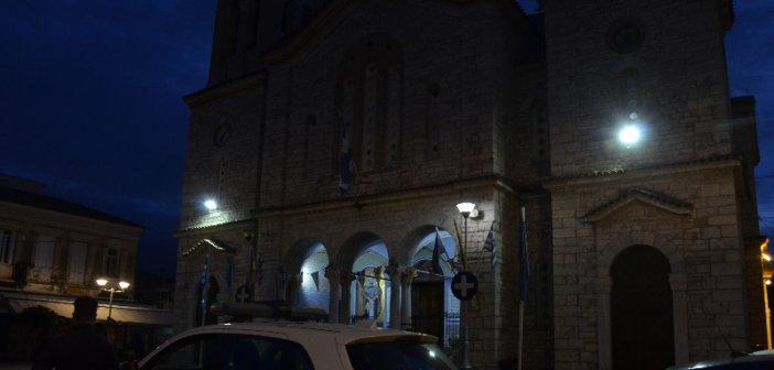 Μεσολόγγι: Θεοφάνεια με ανοιχτές εκκλησίες και διακριτική παρουσία της Αστυνομίας(Φωτο)