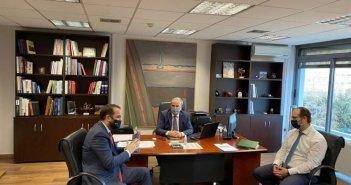 Συναντήσεις Φαρμάκη για την ενίσχυση του πρωτογενούς τομέα και της τοπικής επιχειρηματικότητας
