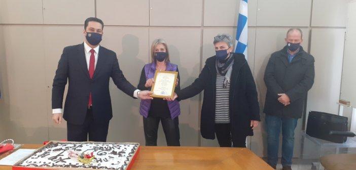 Συμβολική εκδήλωση κοπής της βασιλόπιτας από τον Δήμο Αγρινίου