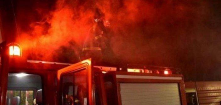 Μεσολόγγι: Ένα άτομο απανθρακώθηκε σε μονοκατοικία που έπιασε φωτιά(Φώτο)