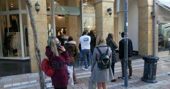 """Το """"άνοιγμα"""" της αγοράς στο Αγρίνιο (pics)"""