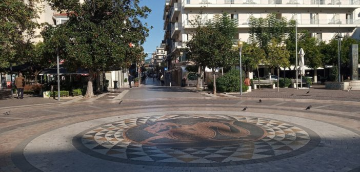 Αγρίνιο: 25 πρόστιμα χθες για μάσκες και άσκοπες μετακινήσεις