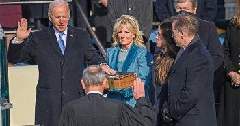 Δείτε live: Ορκίσθηκε ο Τζο Μπάιντεν: Να είμαστε ενωμένοι, θα είμαι Πρόεδρος για όλους τους Αμερικανούς