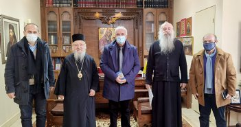 """Κ.Λύρος: """"Η Εκκλησία πολύτιμος συνεργάτης στις εκδηλώσεις του 2021"""""""