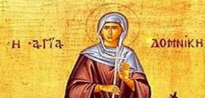 Σήμερα 08 Ιανουαρίου τιμάται η Οσία Δομνίκη