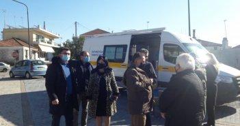 Προληπτικοί έλεγχοι για COVID-19 στα Καλύβια Αγρινίου από την Π.Ε. Αιτωλοακαρνανίας