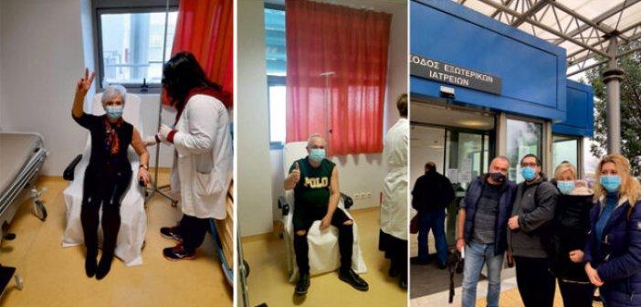 Αμφιλοχία: Εμβολιάστηκε η πλειοψηφία νοσηλευτικού και ιατρικού προσωπικού του Κέντρου Υγείας
