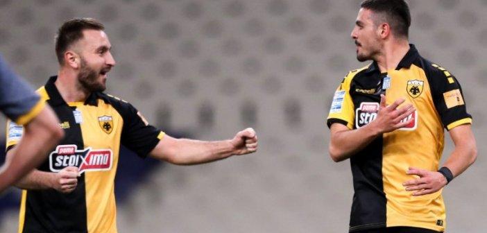 AEK – Παναιτωλικός 1-0 (Video)