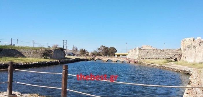Εργασίες στο Φρούριο του Ρίου, με χρηματοδότηση από το Ε.Π «Δυτική Ελλάδα 2014-2020»