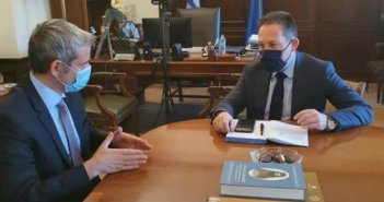 Συνάντηση Κώστα Καραγκούνη με τον Αναπληρωτή Υπουργό Εσωτερικών για τις καταστροφές στην Αιτωλοακαρνανία