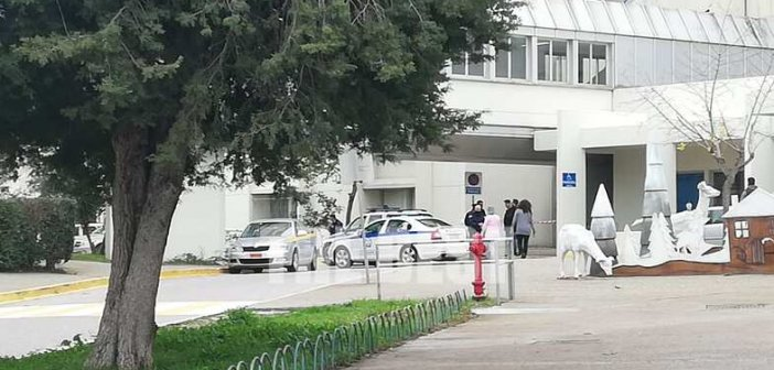 Πάτρα: Νεκρός 53χρονος ασθενής που έπεσε από τον 5ο όροφο του Νοσοκομείου Ρίου(Φωτο)