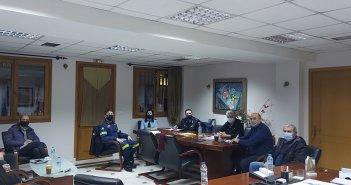 Σύσκεψη στο Δημαρχείο Ναυπακτίας εν όψει της επερχόμενης κακοκαιρίας