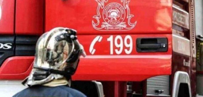 Φωτιά σε οικεία στη Γαβαλού-Κατάσβεση από τον Εθελοντικό Σταθμό