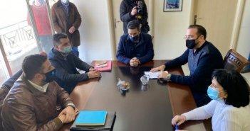 Σύσκεψη στην Π.Ε. Αιτωλοακαρνανίας για την κακοκαιρία – Αποτίμηση ζημιών και γρήγορη αποκατάσταση, καθώς και διαρκής επαγρύπνηση για τη συνέχεια