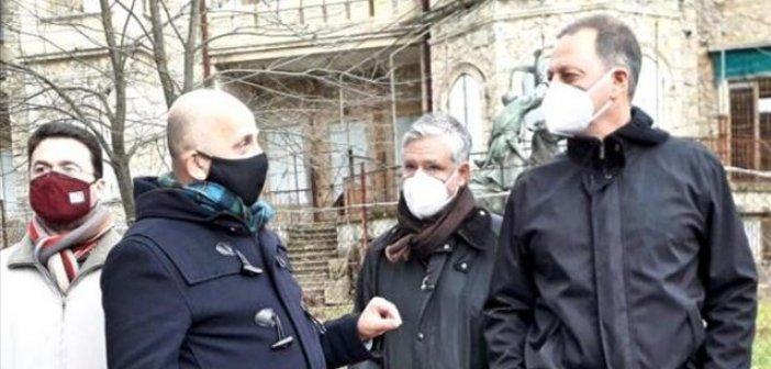 Τατόι: Ενημερωτική επίσκεψη του ΥΠ.ΑΑ.Τ. Σπήλιου Λιβανού