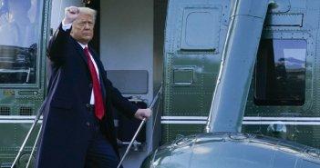 Έφυγε από τον Λευκό Οίκο ο Ντόναλντ Τραμπ – Αναχωρεί σε λίγη ώρα από Ουάσιγκτον