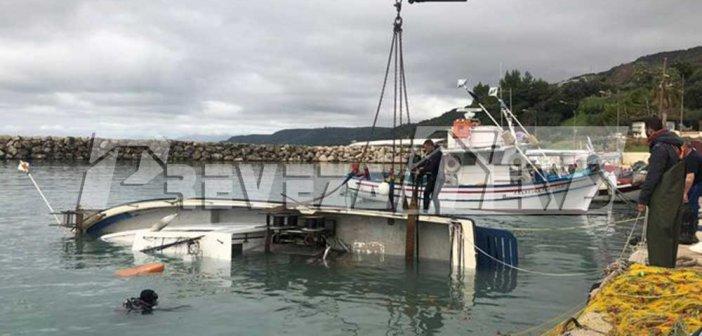Πρέβεζα: Βυθίστηκε αλιευτικό στην Λυγιά (ΔΕΙΤΕ ΦΩΤΟ)