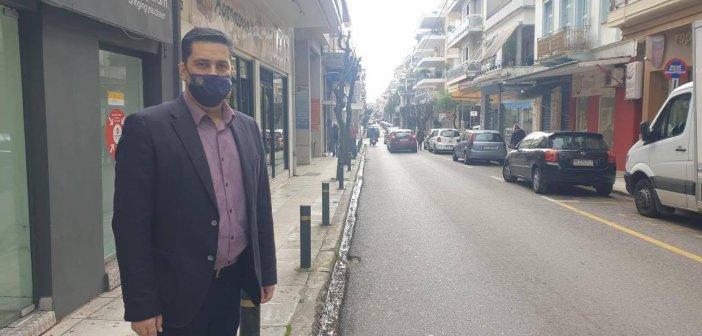 Δήμος Αγρινίου : Ανάπλαση της οδού Χαρ. Τρικούπη προυπολογισμού 3.300.000, 00 ευρώ