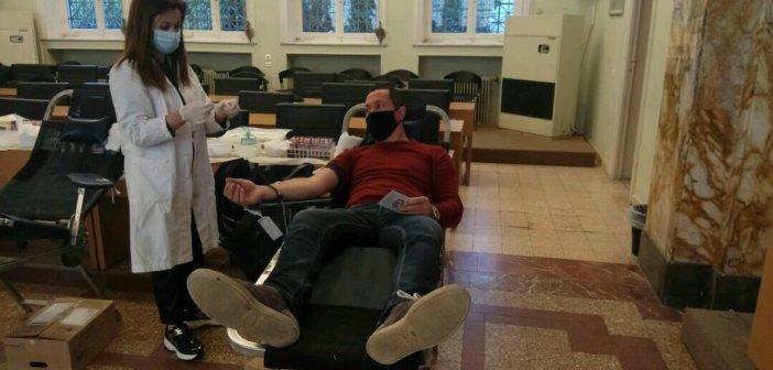 Αγρίνιο: Αυξήθηκαν οι νέοι ηλικιακά εθελοντές αιμοδότες [εικόνες]