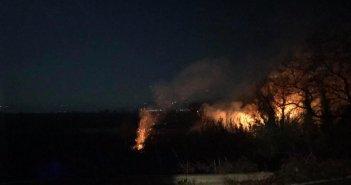 Παναιτώλιο: Κινητοποίηση της πυροσβεστικής για φωτιά στα Αμπάρια