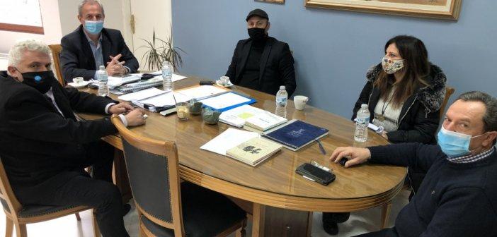 Επίσκεψη Εντεταλμένων Συμβούλων Μιχάλη Γούδα και Γιώργου Κοντογιάννη στοΘέρμο Αιτωλοακαρνανίας