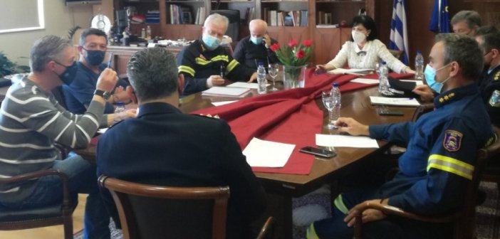 """Σύσκεψη στην Π.Ε. Αιτωλοακαρνανίας για την κακοκαιρία """"Μήδεια"""""""