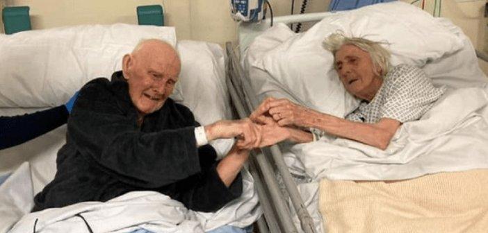 Παγκόσμια συγκίνηση! Το τελευταίο αντίο ηλικιωμένου ζευγαριού με κορωνοϊό