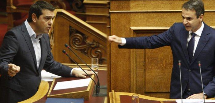 Μητσοτάκης: Να απαντήσεις αν κατηγορείς την κυβέρνηση ότι καλύπτει παιδεραστές – Τσίπρας: Διαχωρίζω την θέση μου από όσα ανεύθυνα γράφονται στα social media