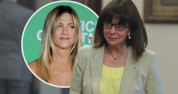 Η Άνιστον «αποθεώνει» την Πρόεδρο της Δημοκρατίας Κατερίνα Σακελλαροπούλου ως «γυναίκα που φέρνει την αλλαγή»