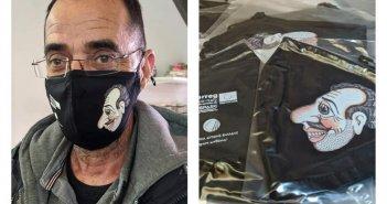Πάτρα: Κυκλοφόρησαν μάσκες καραγκιόζη και δίδονται δωρεάν