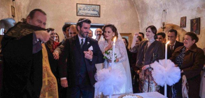 Αγριες Μέλισσες: Παντρεύεται επιτέλους ο Μιλτιάδης τη Βιολέτα -Οι πρώτες φωτό από το γάμο και το γλέντι [εικόνες]