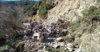 Κατολίσθηση στην Καψοράχη: Άμεση λύση για την αποκατάσταση